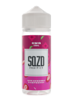 SQZD Fruit Co - Strawberry Raspberry E-liquid 120ML Shortfill